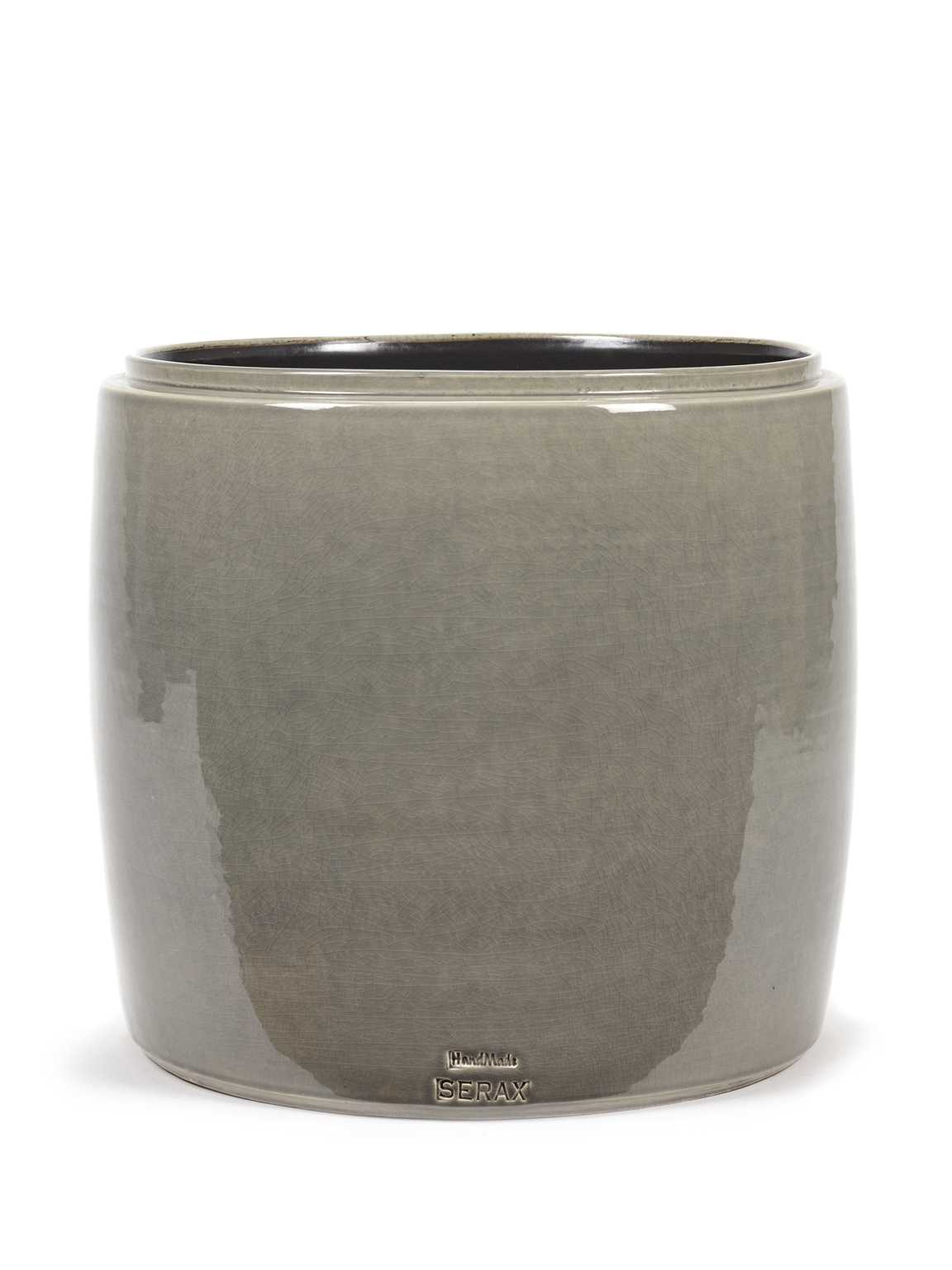 Gray Flower Pot
