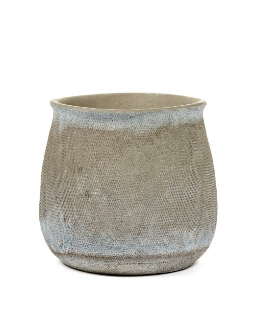 Grey Jar Pot