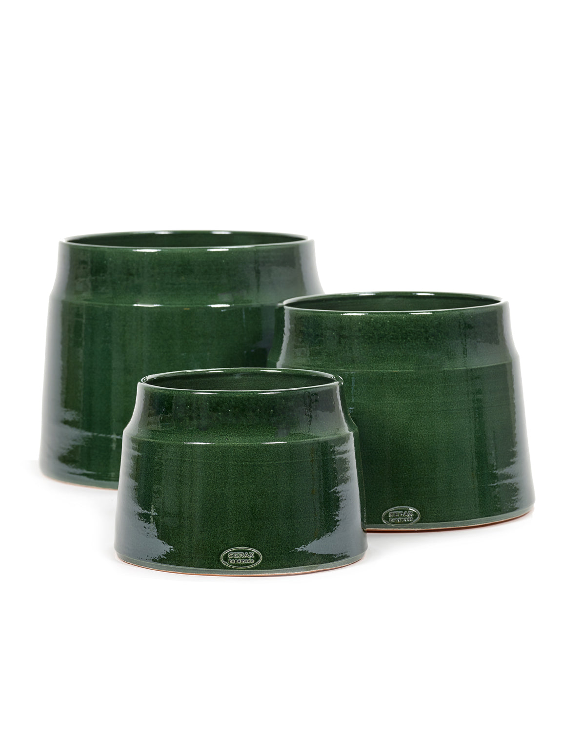 Dark Green Flower Pot