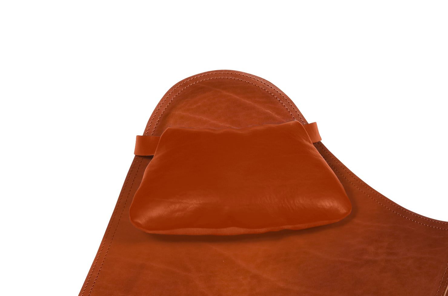 Soft Leather Pillow Black