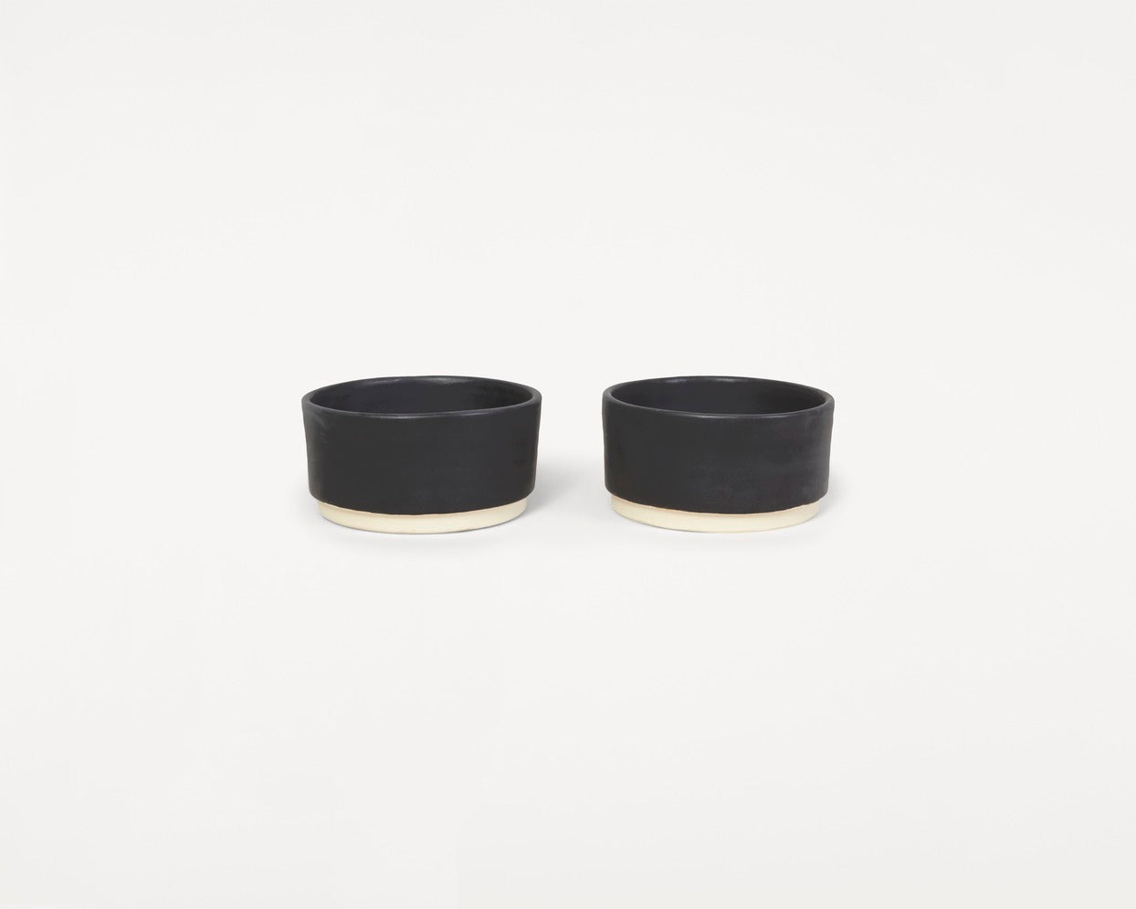 Otto Bowls Black | Set of two
