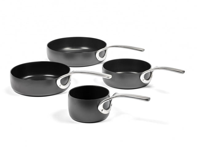 Pure Sauce Pan Non-stick Forged Alu