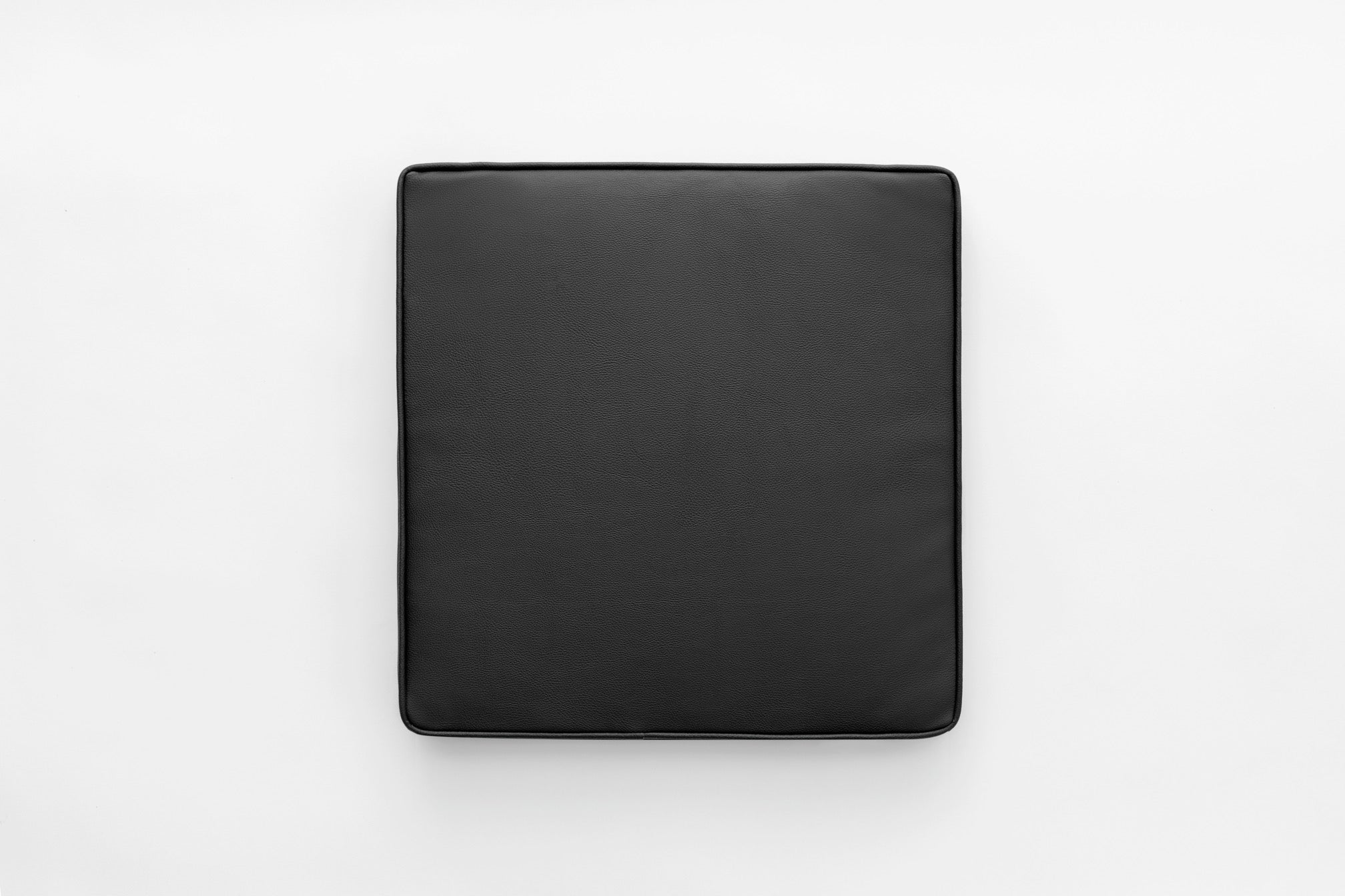 Seating pad - Black leather