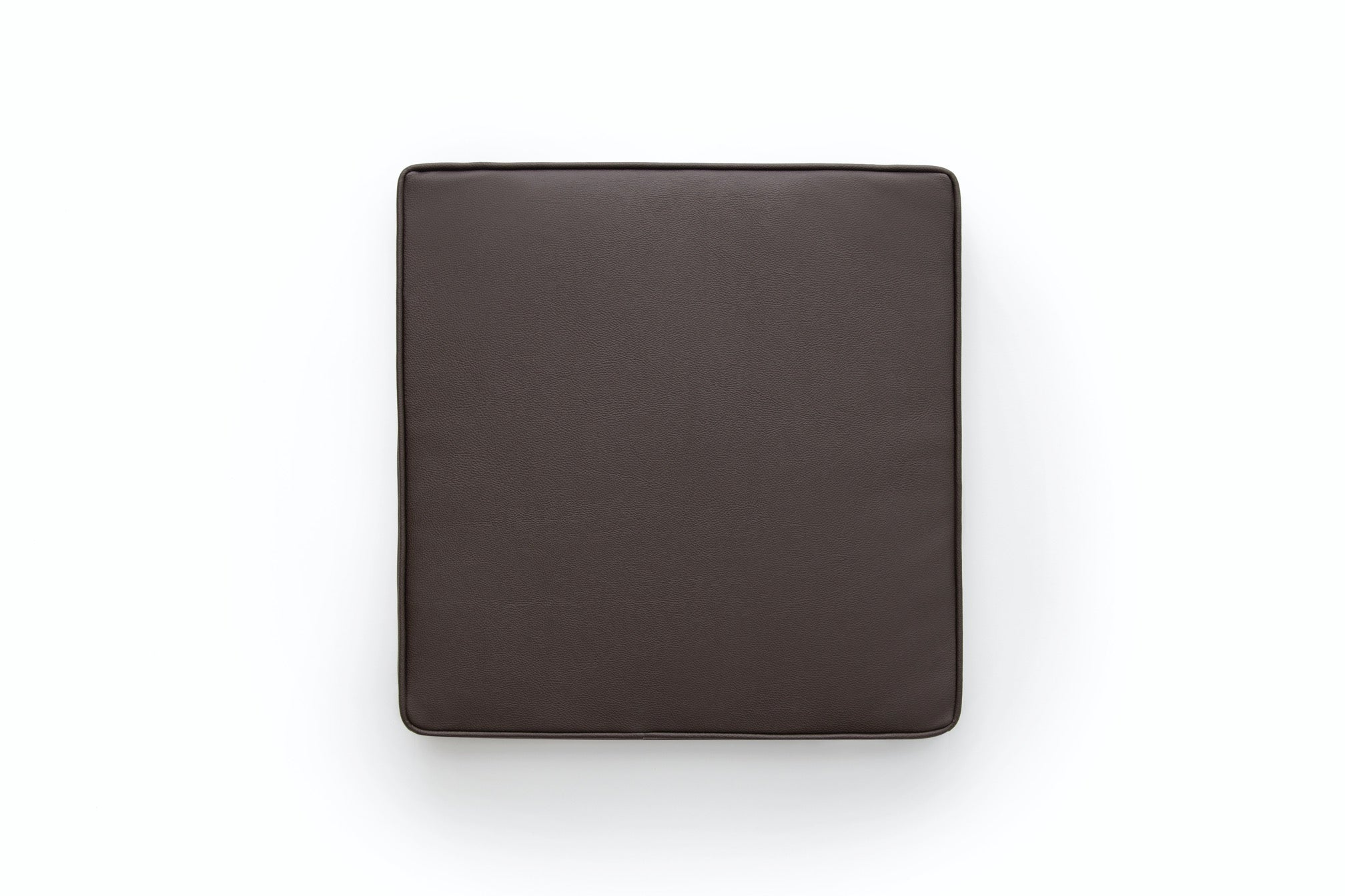 Seating pad - Brown leather