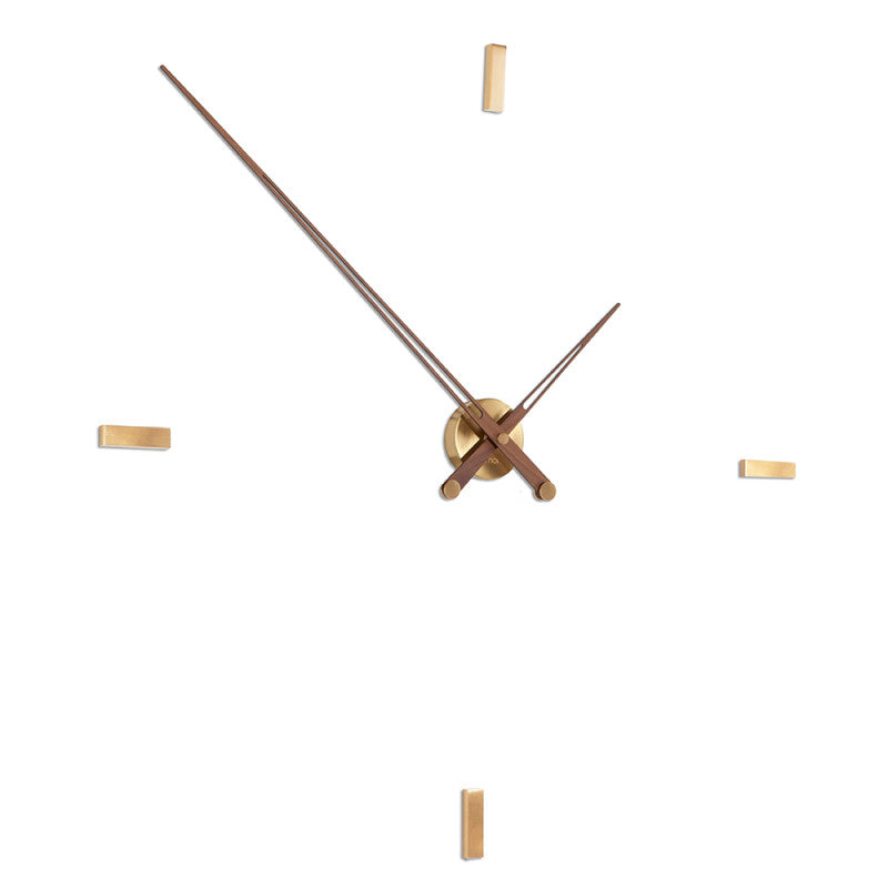 Tacon 4 Gold N Wall Clock