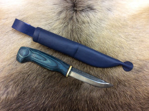 Wood Jewel Blue Knife 23BLUE