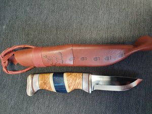 Wood Jewel Finland Knife 23FIN