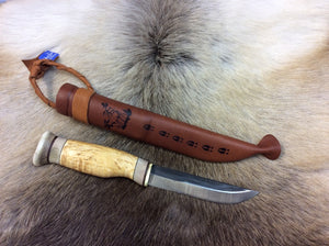 Wood Jewel 23V10 Vuolu 10 Carving Knife - KnivesOfTheNorth.com