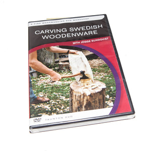 DVD on Carving Swedish Woodenware - KnivesOfTheNorth.com
