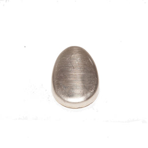 Laurin Butt Cap 30mm x 46mm Nickel - KnivesOfTheNorth.com