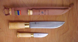 Stromeng KS8+3.5 Double Leuku and Puukko Knife - KnivesOfTheNorth.com