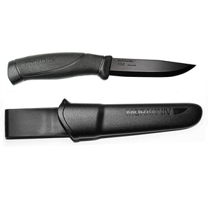 Mora Companion Black Blade Knife - KnivesOfTheNorth.com
