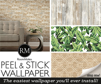 YORK WALLCOVERINGS PEEL AND STICK WALLPAPER