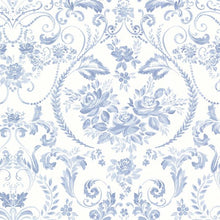 Load image into Gallery viewer, Canne Blue Floral