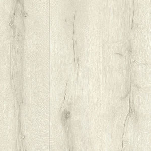 Appalachian Off-White Wooden Planks Wallpaper