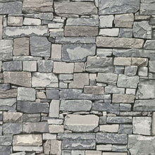 Load image into Gallery viewer, Wrangell Stacked Slate Wallpaper