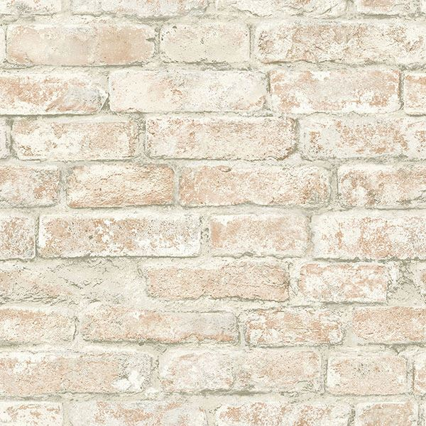 Arlington Multicolor Brick Wallpaper
