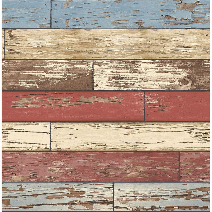 2704-22319 Scrap Wood Red Weathered Texture