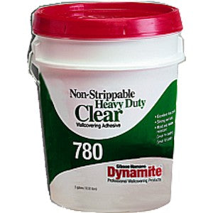 Gardner Gibson 7780-3-20 1G Clear Dynamite 780 HD Strippable Wallcovering Adhesive
