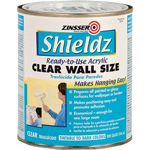 Zinsser 02104 Qt Clear Shieldz