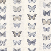 Load image into Gallery viewer, Jewel Butterflies Stripe Wallpaper