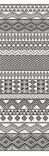 Load image into Gallery viewer, Aztec Stripe Cream Geometric Mural