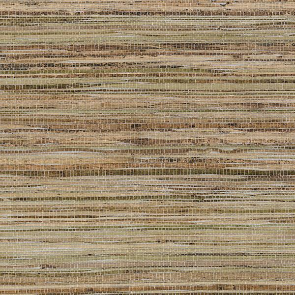 Fine Raw Jute with Silver Wallpaper