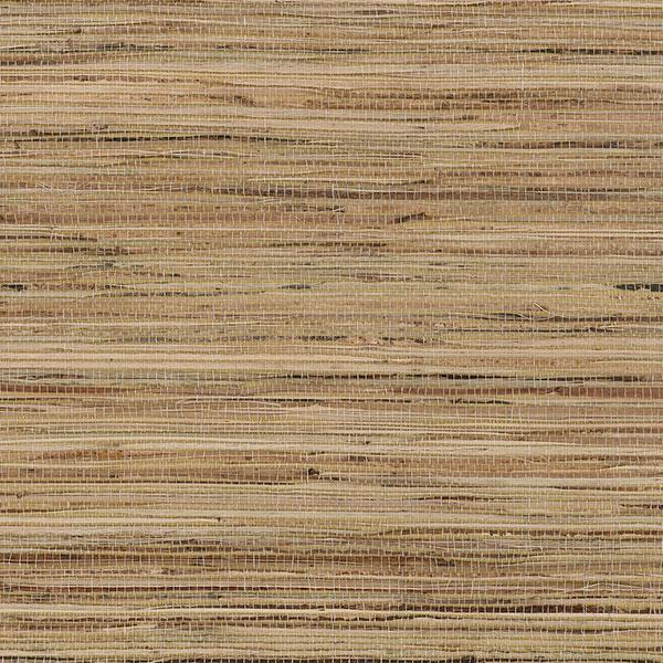 Fine Raw Jute with Gold Wallpaper