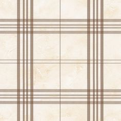 FK26928 cream and light brown plaid