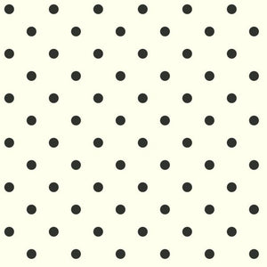 Magnolia Home Dots on Dots Removable Wallpaper white/black