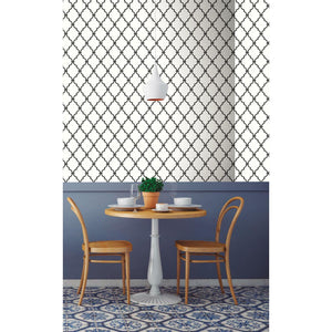 MODERN TRELLIS PEEL AND STICK WALLPAPER