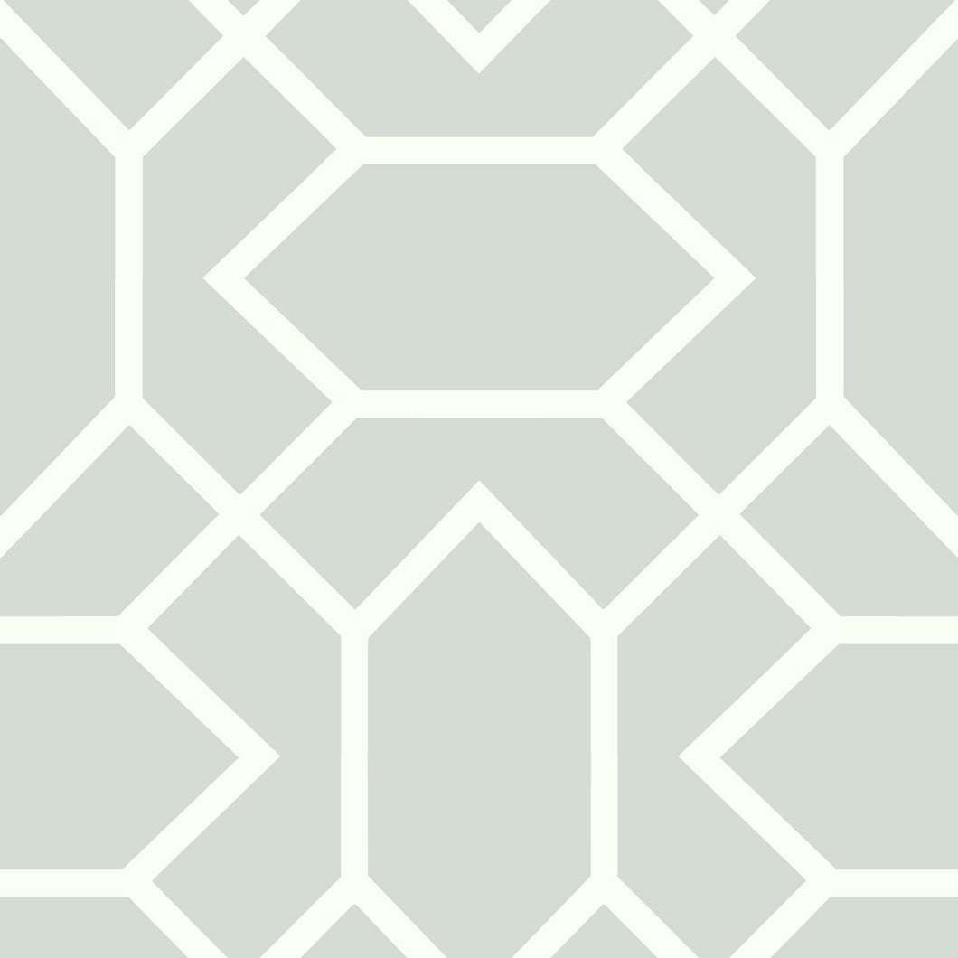 LT GREY MODERN GEOMETRIC PEEL & STICK WALLPAPER