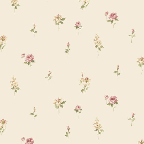 wallpaper, wallpapers, floral, flowers, stems, leaves, small print