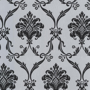 Flock Damask Wallpaper