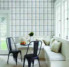 Load image into Gallery viewer, Farmhouse Plaid Wallpaper