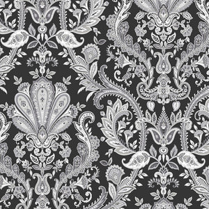 wallpaper, wallpapers, light reflective, paisley, floral, flowers