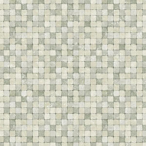 "Faux 1/2"" Tiles Wallpaper"