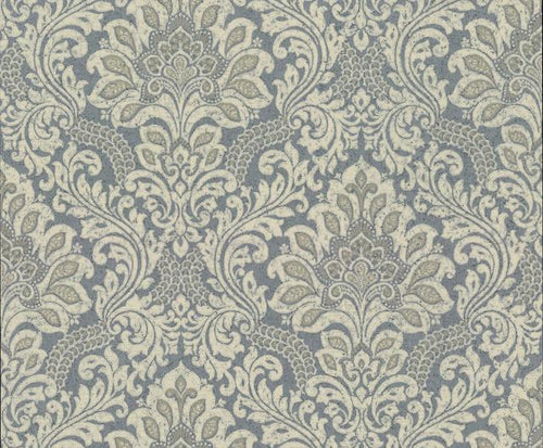Damask gray grey pewter taupe