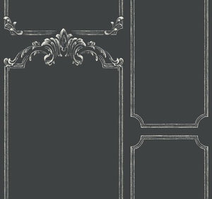 Magnolia Home Chalkboard Removable Wallpaper black/white