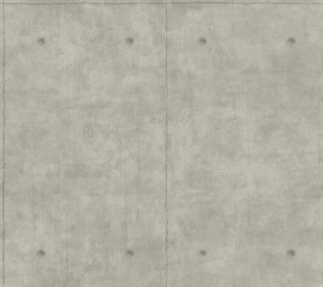 Magnolia Home Concrete Removable Wallpaper mid gray