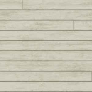 removable wallpaper country boards woodgrain tongue and groove grey
