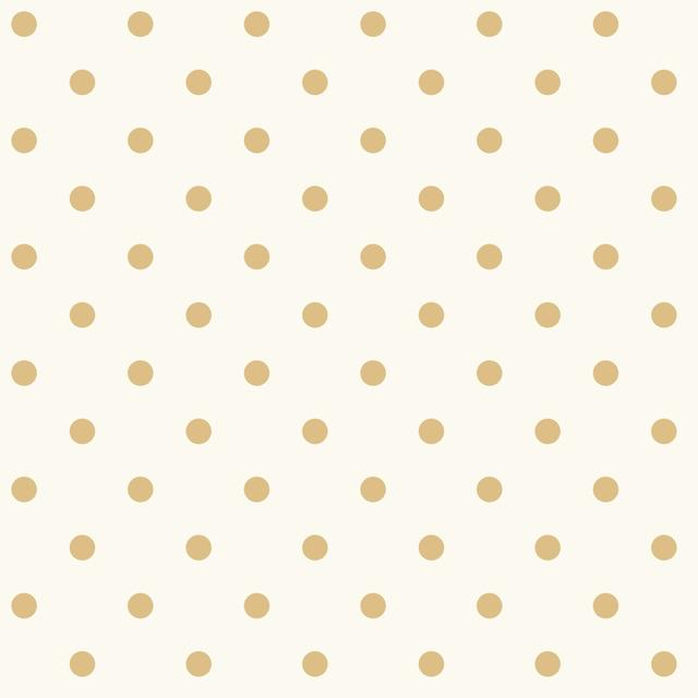 Magnolia Home Dots on Dots Removable Wallpaper white/yellow
