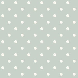 Magnolia Home Dots on Dots Removable Wallpaper green/white