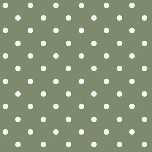 Magnolia Home Dots on Dots Removable Wallpaper white/green