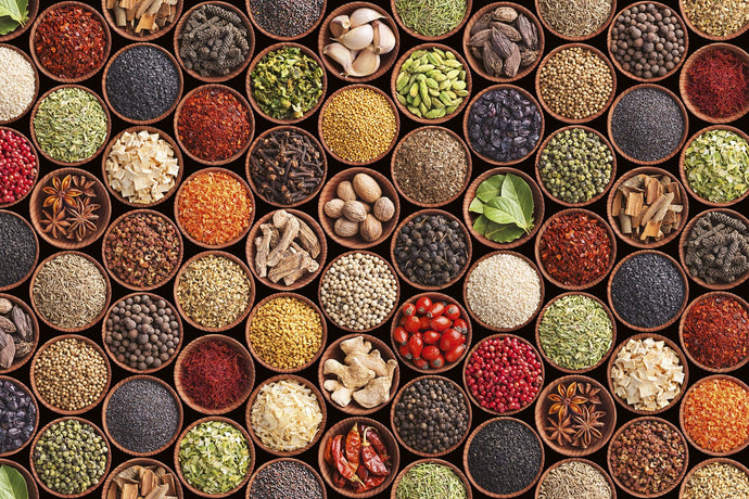 Spice Bowls Wall Mural