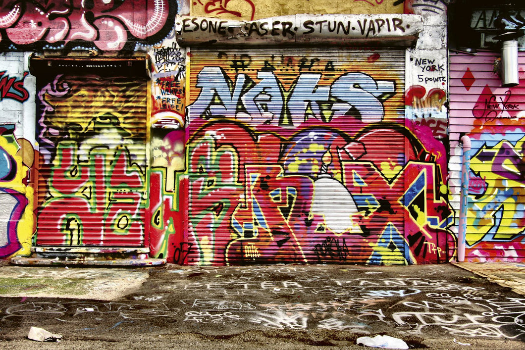 Graffiti Street Wall Mural