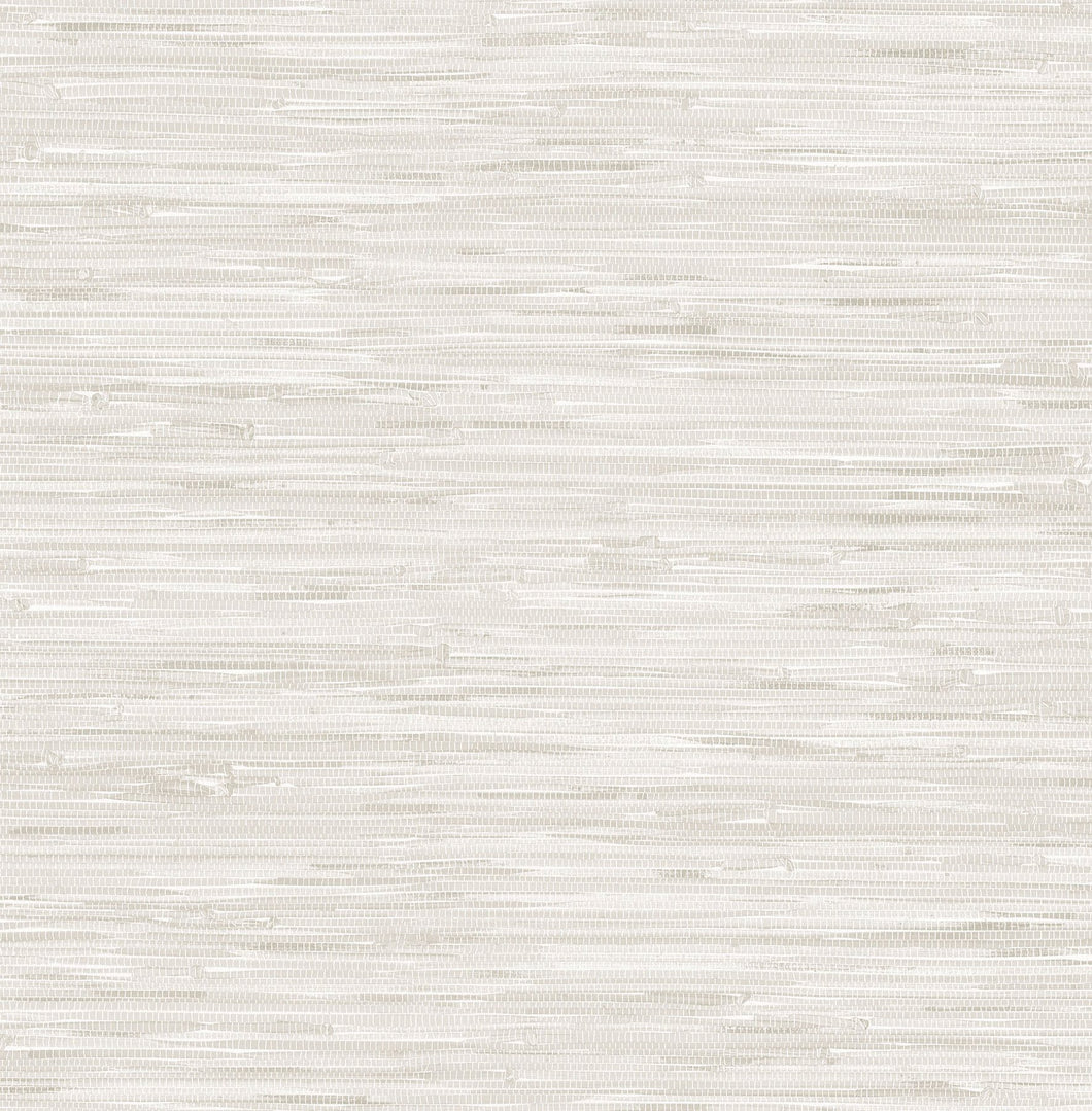 Cream Grassweave Peel & Stick Wallpaper