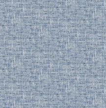 Load image into Gallery viewer, Navy Poplin Texture Peel & Stick Wallpaper