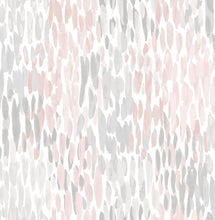 Load image into Gallery viewer, Blush Make It Rain Peel & Stick Wallpaper