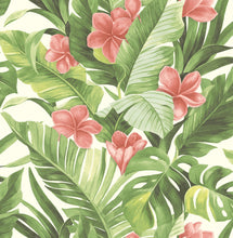Load image into Gallery viewer, Tropical Paradise Peel & Stick Wallpaper